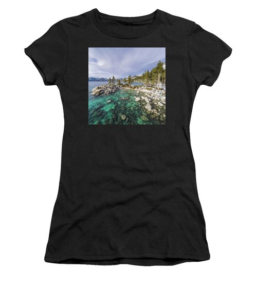 Sand Harbor Views Women's T-Shirt