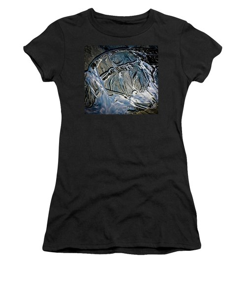 Sand Reflection Women's T-Shirt (Athletic Fit)