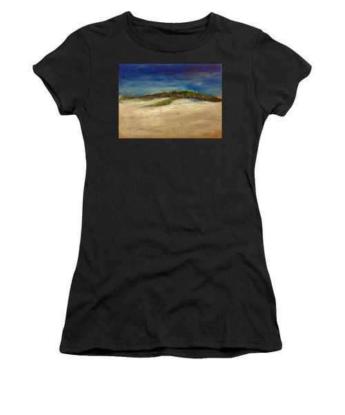 Sandilands Beach - Overcast Day Women's T-Shirt (Athletic Fit)