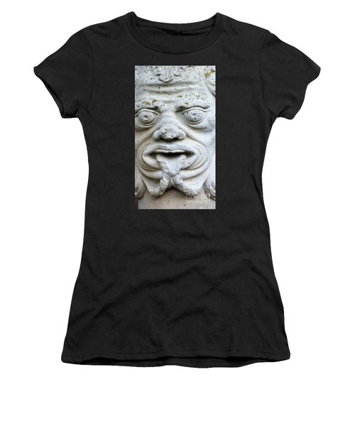 Sandstone Sculpture At The Main Entrance Of The Corvey Monastery Women's T-Shirt