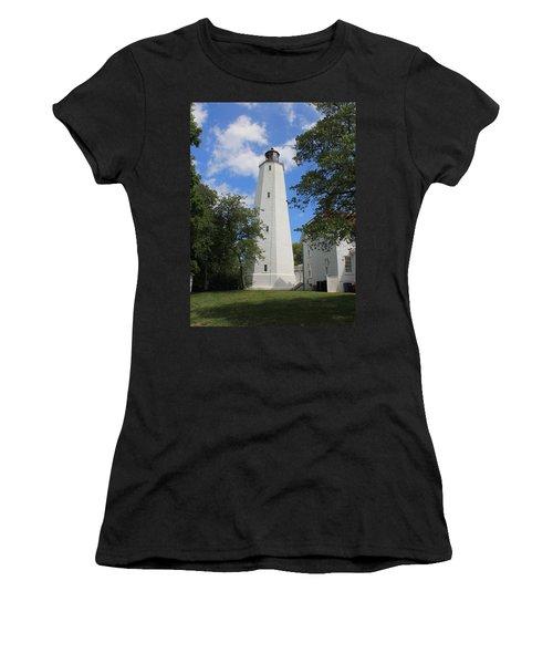 Sandy Hook Lighthouse Tower Women's T-Shirt