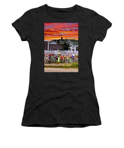 Sandy Neck Sunset Women's T-Shirt