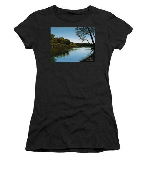 Sangamon Solitude Women's T-Shirt (Athletic Fit)