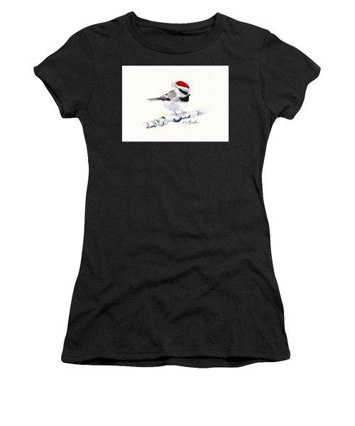 Santa Bandit - Chickadee Women's T-Shirt