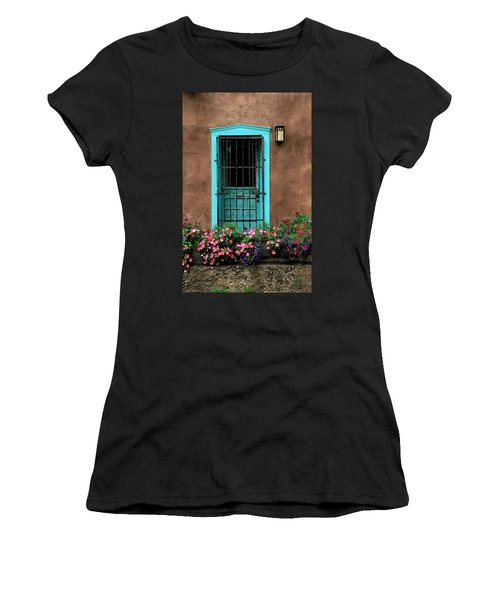 Santa Fe Door #1 Women's T-Shirt (Athletic Fit)