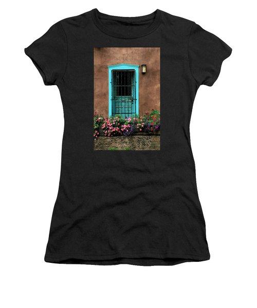 Santa Fe Door #1 Women's T-Shirt (Athletic Fit)