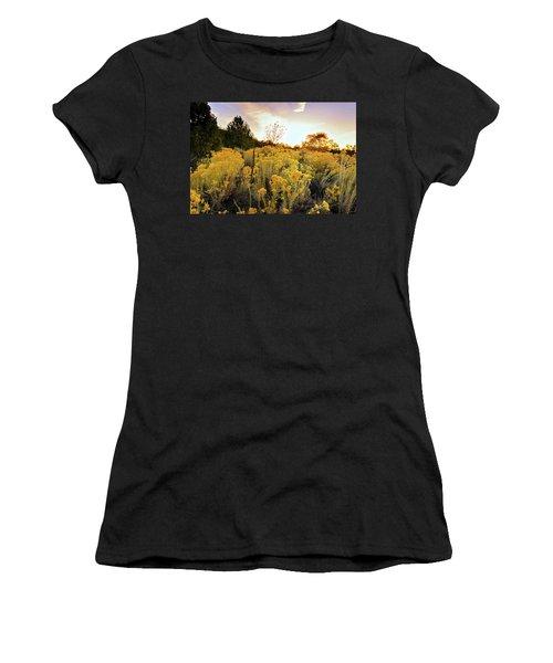 Santa Fe Magic Women's T-Shirt (Junior Cut) by Stephen Anderson