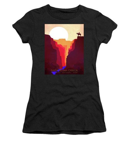 Santa Helena Canyon 1  Women's T-Shirt