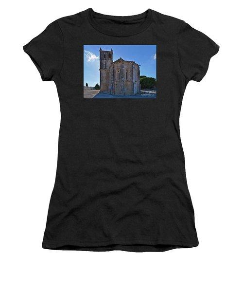 Santa Maria Do Carmo Church In Lourinha. Portugal Women's T-Shirt