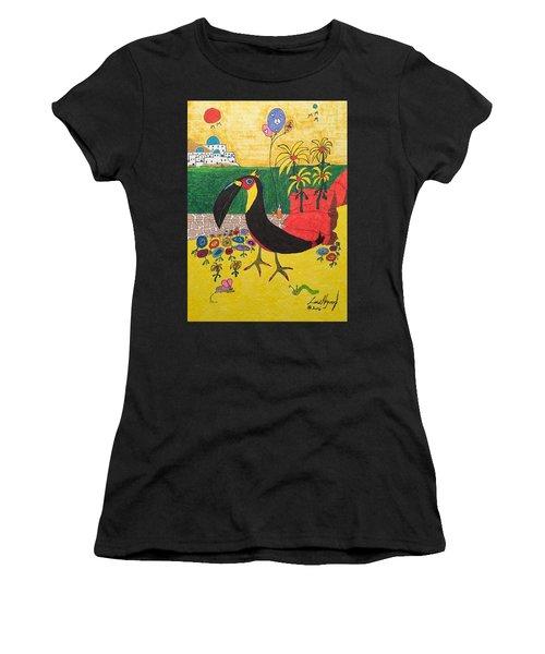 Santorini-esque Women's T-Shirt (Athletic Fit)