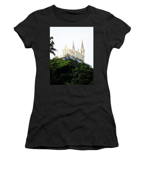Santuario Da Penha Women's T-Shirt (Athletic Fit)
