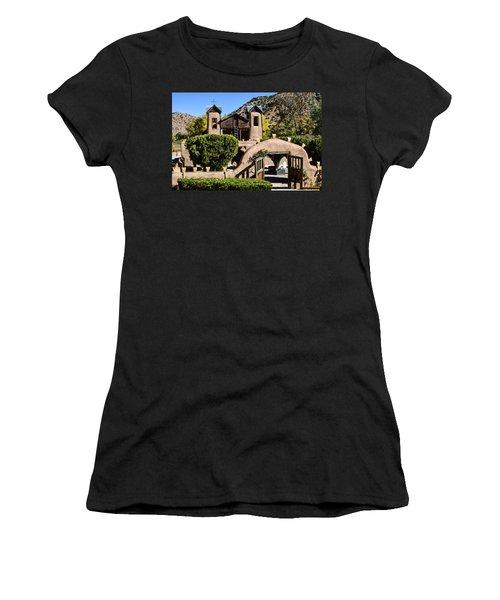 Santuario De Chimayo Women's T-Shirt (Athletic Fit)