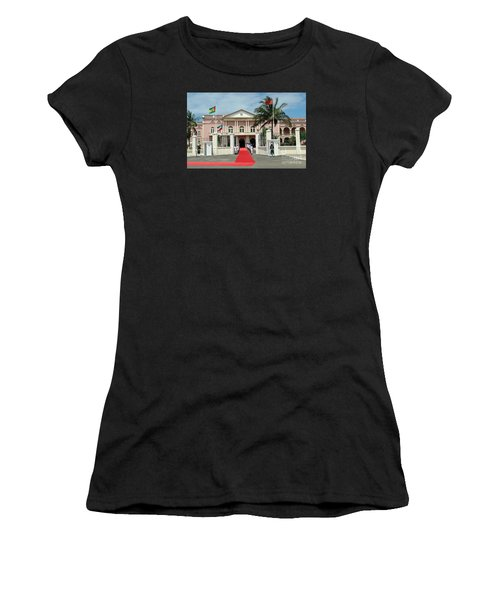 Sao Tome City Hall Women's T-Shirt (Athletic Fit)