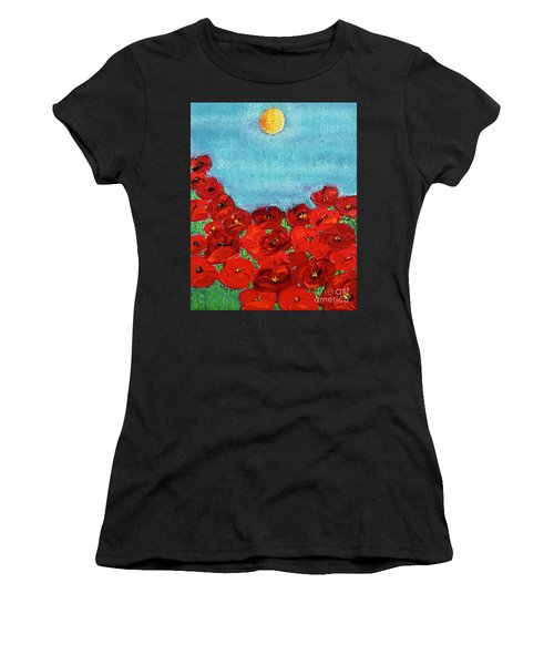 Sarah's Poppies Women's T-Shirt