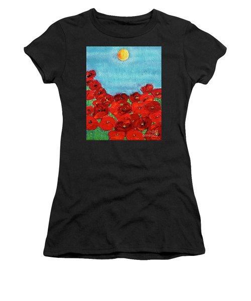 Sarah's Poppies Women's T-Shirt
