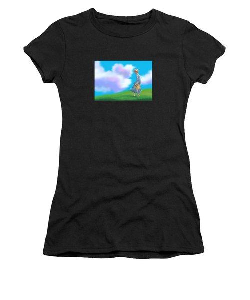 Sarah's Summer Stroll Women's T-Shirt