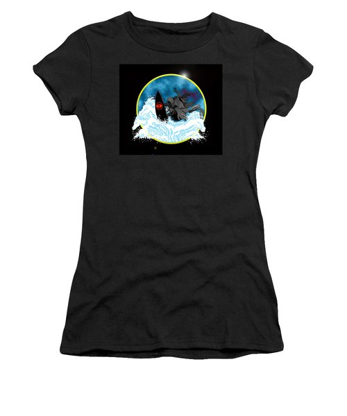 Sauron Jon Women's T-Shirt (Athletic Fit)