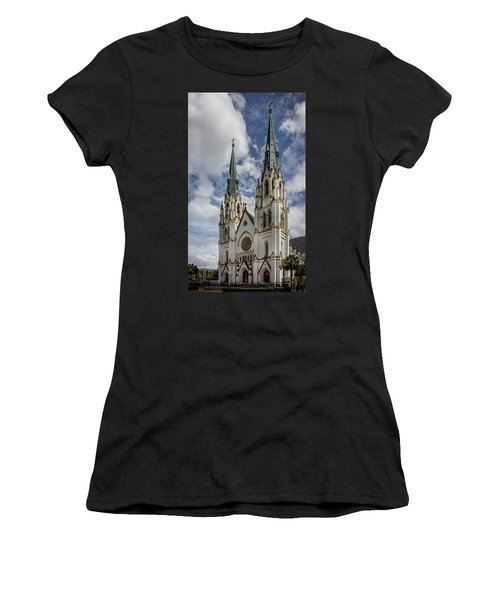 Savannah Historic Cathedral Women's T-Shirt