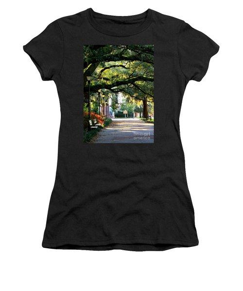 Savannah Park Sidewalk Women's T-Shirt