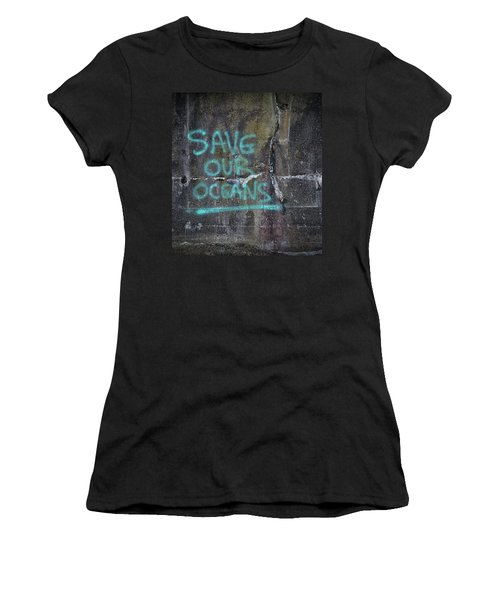 Save Our Oceans Women's T-Shirt (Athletic Fit)