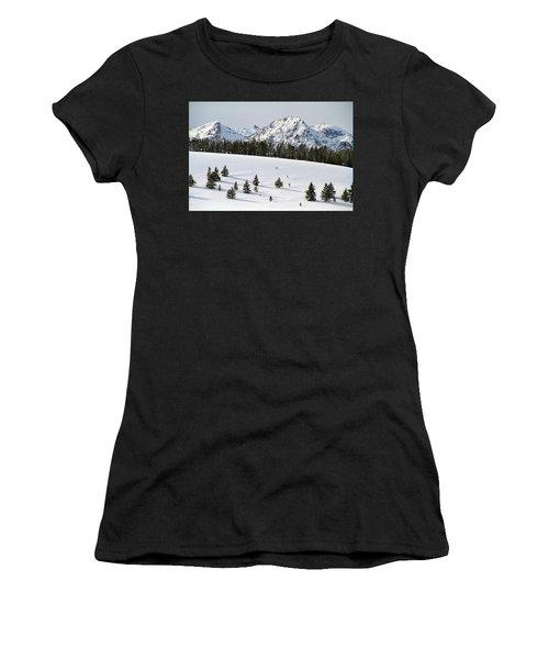Sawtooth Wilderness Central Idaho Women's T-Shirt