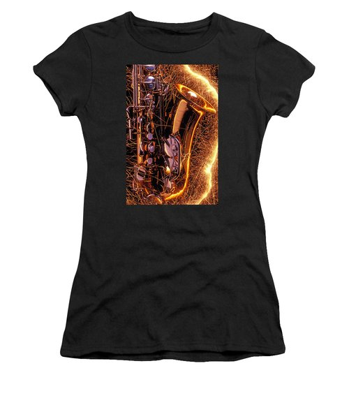 Sax With Sparks Women's T-Shirt
