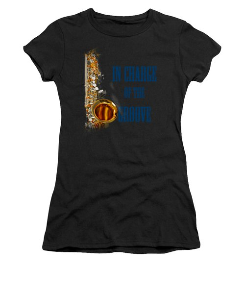 Saxophones In Charge Of The Groove 5532.02 Women's T-Shirt (Athletic Fit)