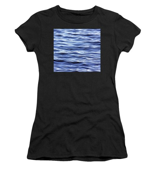 Women's T-Shirt featuring the photograph Scanning For Dolphins by Rick Locke