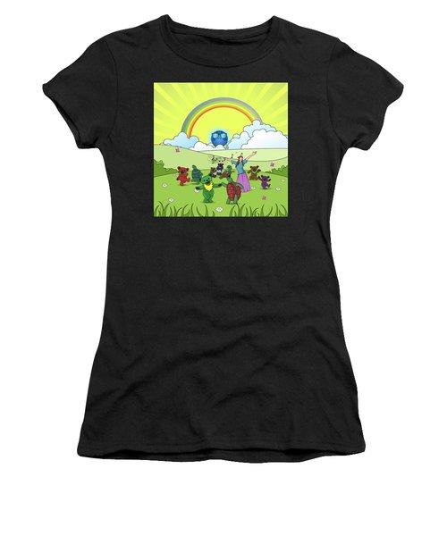 Scarlet Begonia Women's T-Shirt