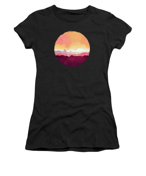 Scarlet Desert Women's T-Shirt (Athletic Fit)