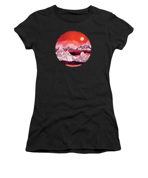 Scarlet Glow Women's T-Shirt (Athletic Fit)