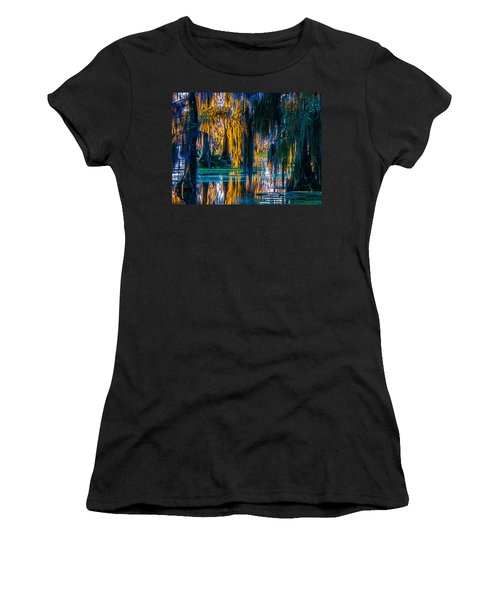 Scary Swamp In The Daytime Women's T-Shirt (Athletic Fit)