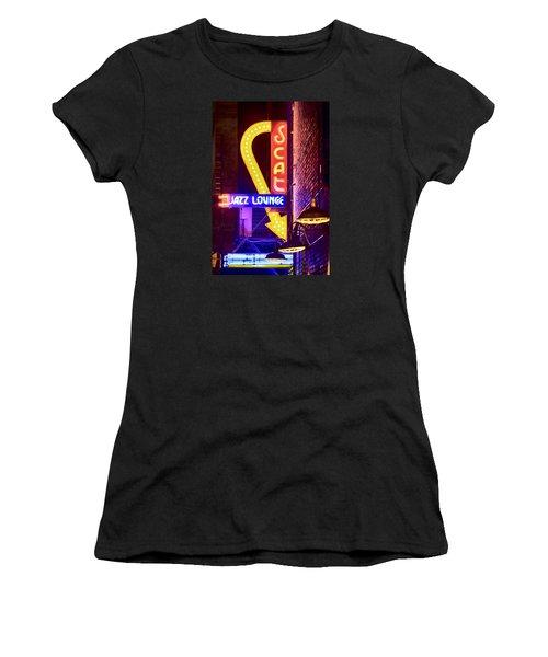 Scat Jazz Neon V3 Women's T-Shirt