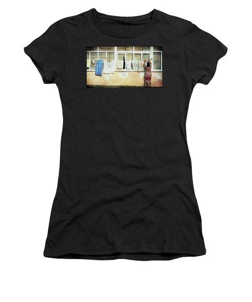 Scene Of Daily Life Women's T-Shirt