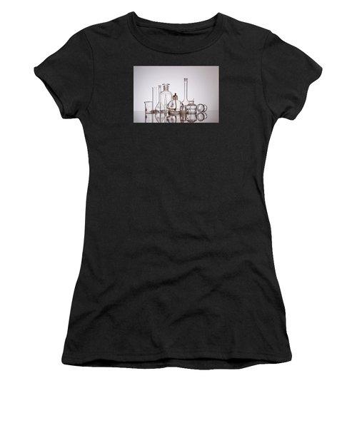 Scientific Glassware Women's T-Shirt (Athletic Fit)