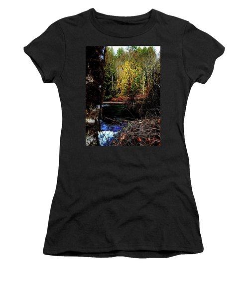 Scoggins Creek 3 Women's T-Shirt (Athletic Fit)