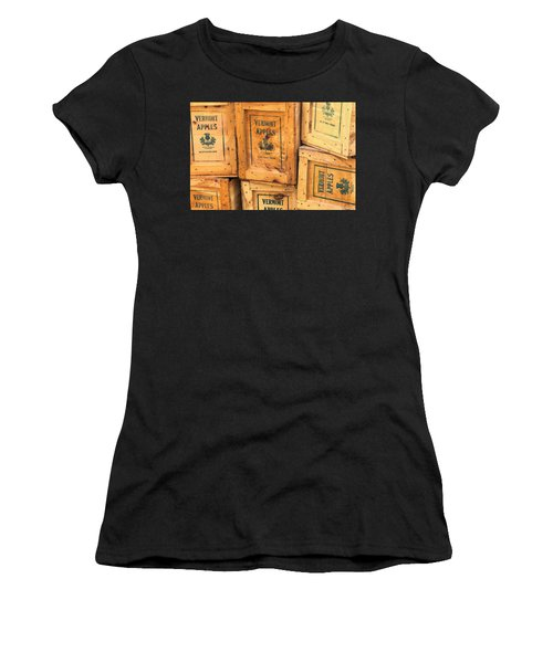 Scott Farm Apple Boxes Women's T-Shirt