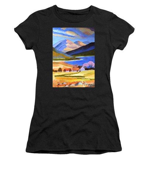 Scottish Highlands 2 Women's T-Shirt (Athletic Fit)