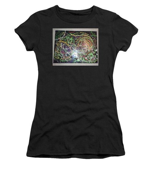Scribble Women's T-Shirt (Junior Cut) by Talisa Hartley