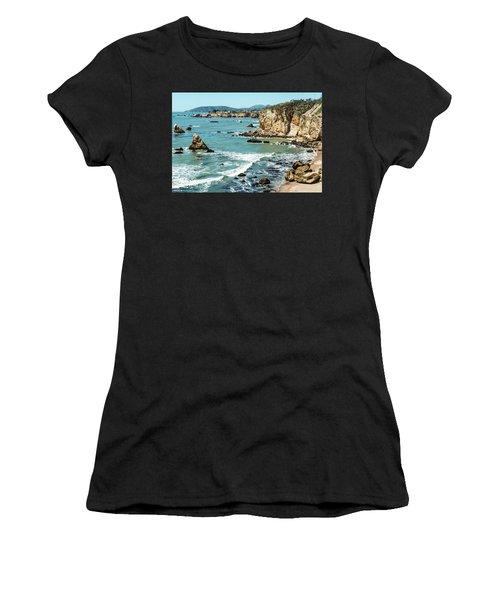 Sea And Cliffs Women's T-Shirt