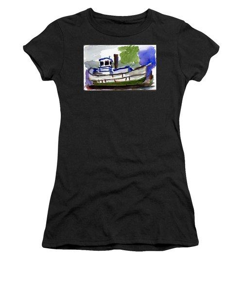 Sea Breeze Women's T-Shirt (Junior Cut) by Tom Simmons