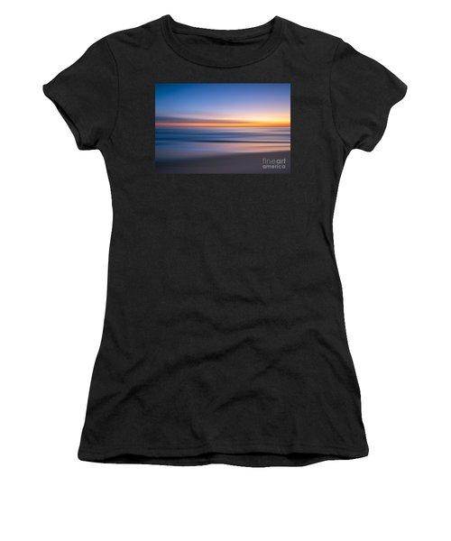 Sea Girt New Jersey Abstract Seascape Sunrise Women's T-Shirt