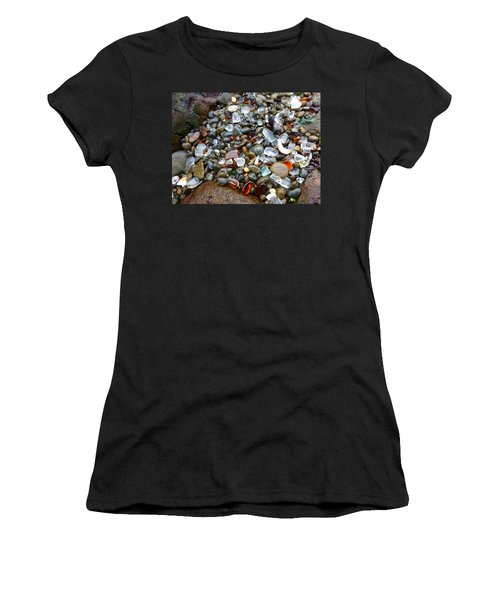 Sea Glass Gems Women's T-Shirt (Athletic Fit)