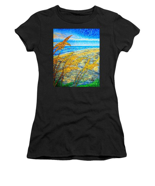 Sea Oats Dual#2 Women's T-Shirt (Athletic Fit)