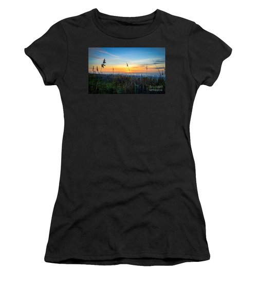 Sea Oats Sunrise Women's T-Shirt