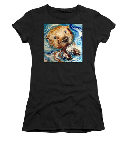 Sea Otter Swim Women's T-Shirt