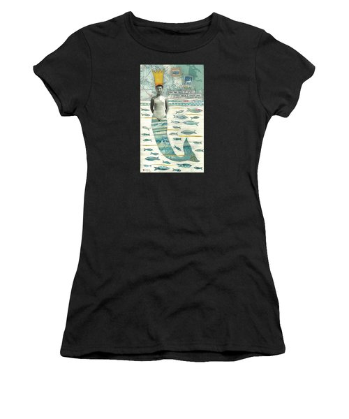 Sea Queen Women's T-Shirt (Athletic Fit)