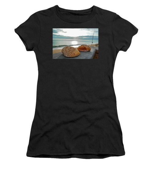 Sea Shells Women's T-Shirt (Athletic Fit)