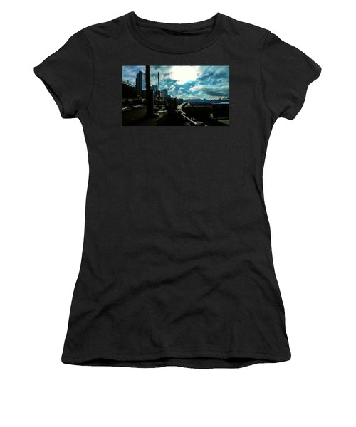 Sea Side, Seattle  Women's T-Shirt