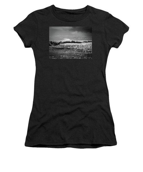 Sea Storm Women's T-Shirt (Athletic Fit)